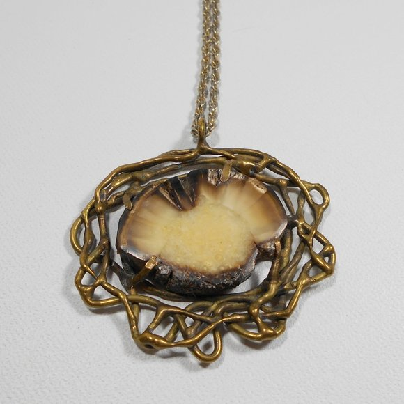 Triple Soldered Glass Photo Charm Necklace